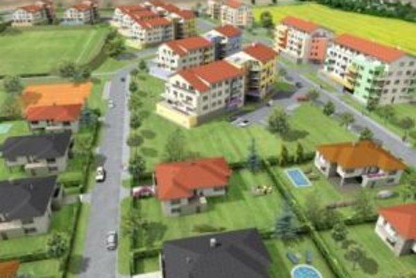 Viacerí Trnavčania dali prednosť bývaniu v novej obytnej zóne v Bielom Kostole.