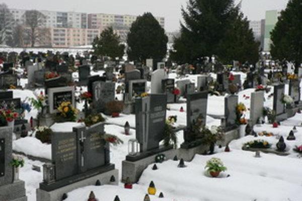 Nový zákon pravdepodobne zmení aj cenník cintorínskych služieb.
