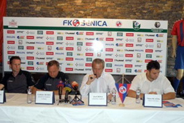 Z tlačovej konferencie FK Senica.