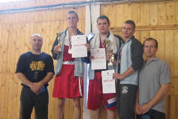 Jakub Kondvar majster Slovenska v boxe.