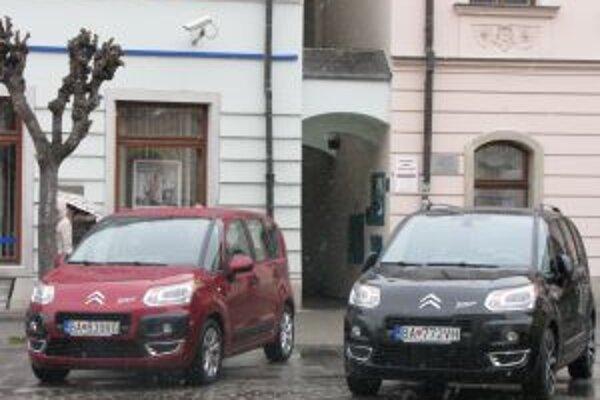 Nový model Citroën C3 Picasso predstavili nedávno na pešej zóne