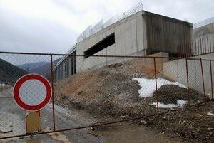 Rozostavaný areál v Osrblí.