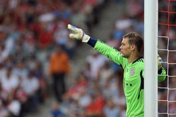 Brankár Neuer už v drese bavorského klubu.
