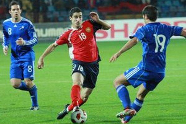 Hviezda Arménov je Henrich Mchitarjan.