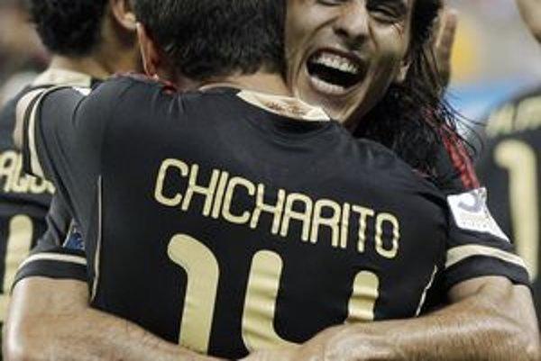 Futbalisti Mexika obhajujú na CONCACAFe titul.