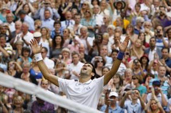 Novak Djokovič prežíva senzačnú sezónu.