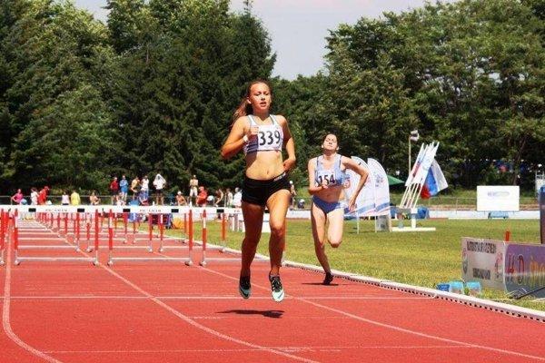 K titulu žiačok prispela aj Zuzana Šedová.
