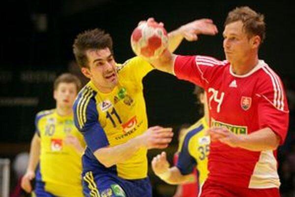 Švédom sa podarilo doma nad Slovákmi vyhrať.