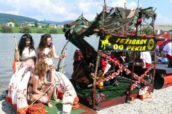 Netradičné plavidlá opäť zavítajú do Trenčína