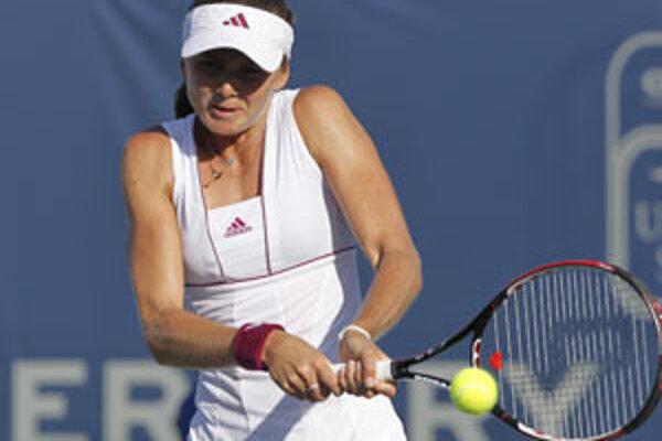 Daniela Hantuchova na americkom turnaji postúpila ďalej.