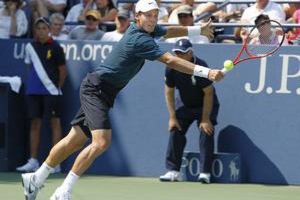 Tomáš Berdych neuhral v prvom kole US Open ani set.
