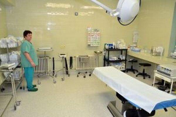 Nemocnica sa sústredí najmä na vybavenie. |