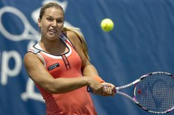 Dominika Cibulková je zranená, do Srbska cestovať nebude.