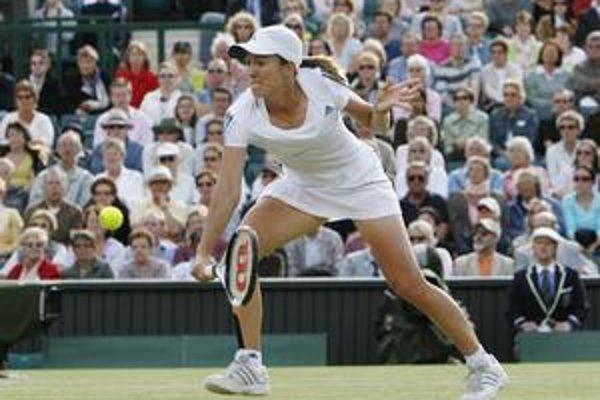 Justine Heninová bola už dvakrát vo finále Wimbledonu, ale obe finále prehrala.
