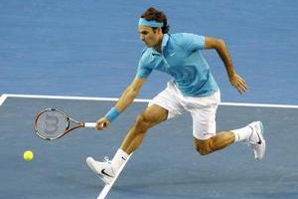 Roger Federer opäť dokázal, prečo je svetovou jednotkou.