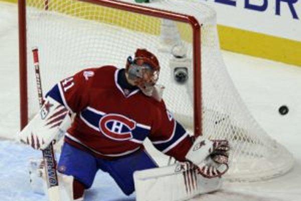 Jaroslav Halák nezabránil prehre Montrealu s Bostonom.