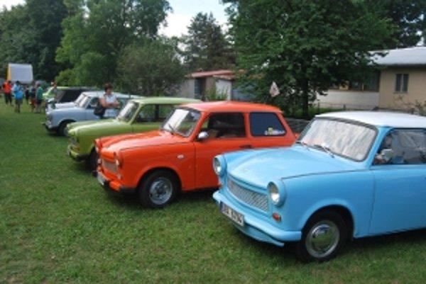 Galéria Trabantov 601 všetkých farieb.
