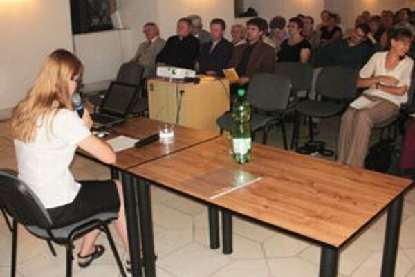 Maďarská historička Eszter Kovács dodala podujatiu medzinárodný rozmer