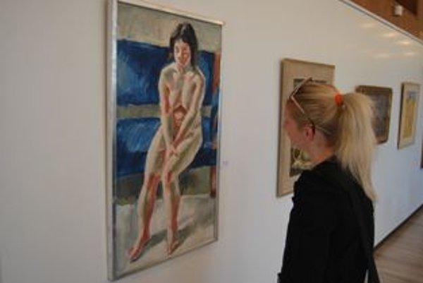 Výstava Umelecký akt potrvá do 29.mája.