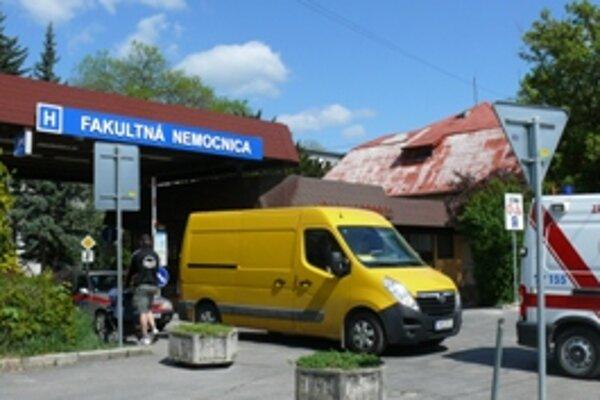 Dlhy fakultnej nemocnice dosahujú takmer 18 miliónov eur.