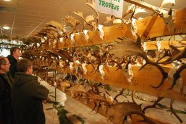 Poľovnícka výstava v Myjave prilákala množstvo návštevníkov.