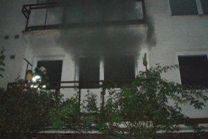 Unikajúci dym vystrašil v sobotu obyvateľov trenčianskeho sídliska Pred Poľom