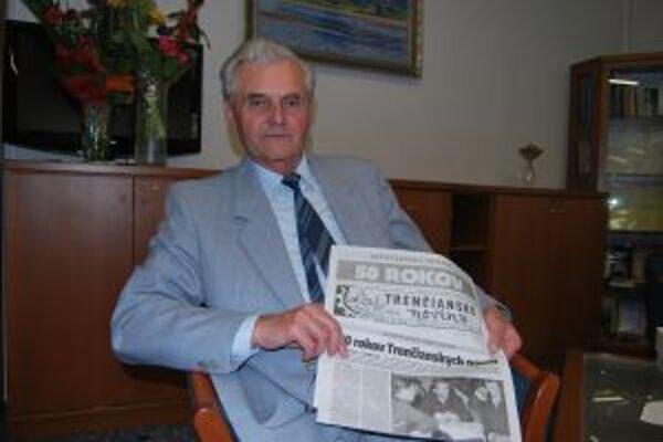 Štefan Šicko pôsobil v Trenčianskych novinách cez 30 rokov.