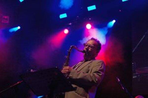Harry Sokal sa predstavil na festivale v sprievode kvinteta Mariana Ševčíka