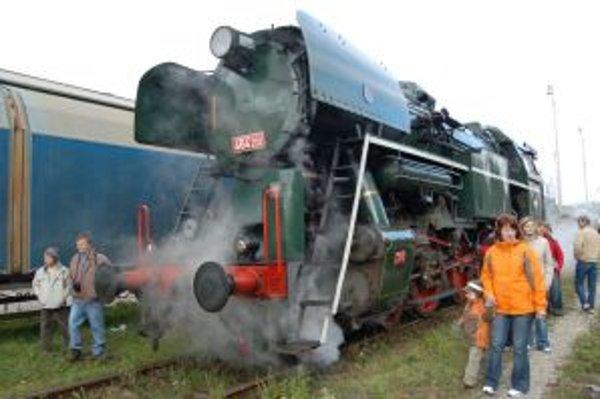 Parný vlaku bude počas festivalu premávať na trati č. 121 Veselí nad Moravou - Nové Mesto nad Váhom