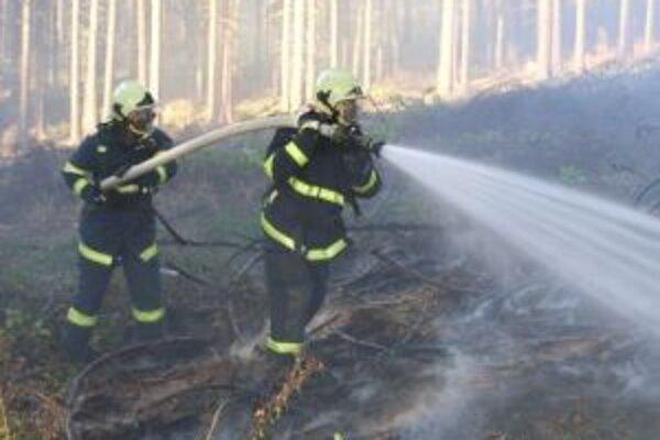 Lesné požiare sú náročné pre neprístupný terén.