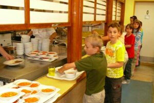 Kuchyňa v ZŠ na Novomeského ulici bude variť aj pre deti s poruchami výživy.