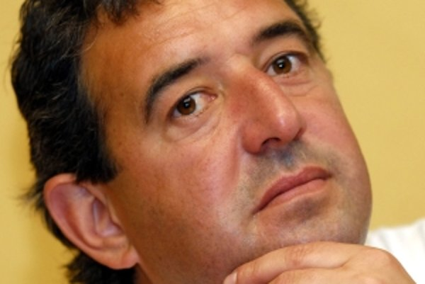 Predseda predstavenstva klubu MFK Dubnica Peter Gergely.