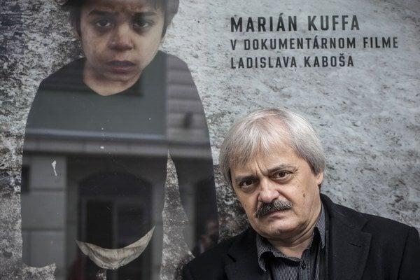 L. Kaboš. Režisér dokumentu prišiel osobne do Kežmarku.