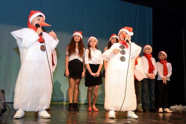 Deti z komunitných centier vystúpili v Košiciach na spoločnom koncerte.