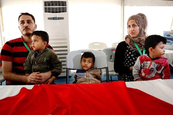 Otec rodiny v Jordánsku nenašiel prácu a rodina tam žila z potravinových poukážok.