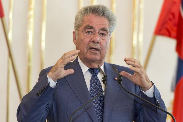Prezident Rakúskej republiky Heinz Fischer.