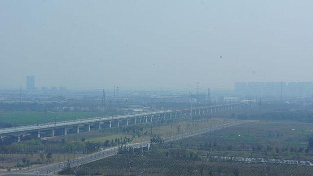 Most Danyang-Kunshan v Číne je najdlhší na svete.