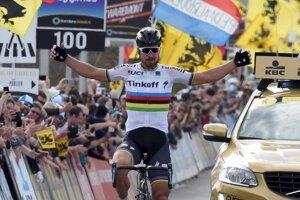Peter Sagan patrí na pretekoch Paríž-Roubaix k najväčším favoritom na víťazstvo.