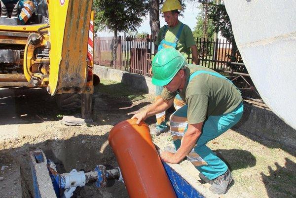 Kanalizácia by mala v troch obciach presiahnuť viac ako pätnásťtisíc metrov.