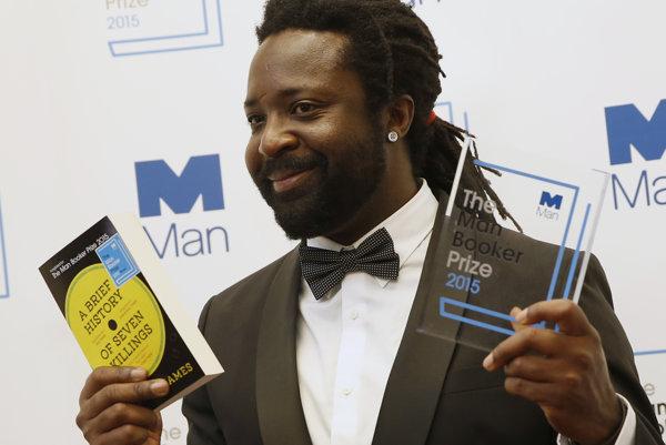 James je prvým jamajským spisovateľom, ktorý si cenu prevzal.