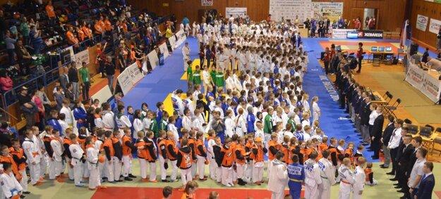 Prestížny turnaj mladých džudistov v Bardejove.