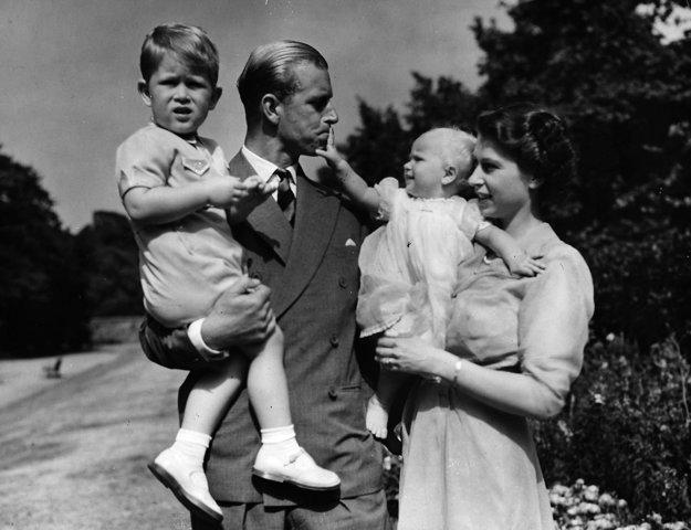 So svojimi deťmi a manželom