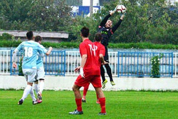 Brankár Serede Martin Šálka si v Šali udržal čisté konto a jeho tím si odviezol tri body.