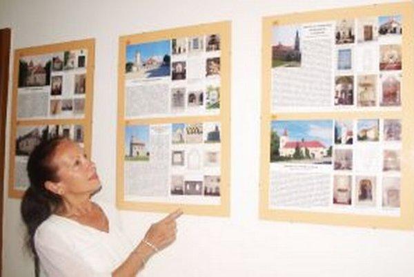 Výstavu priblížila Anna Valeková, riaditeľka KPÚ v Nitre.