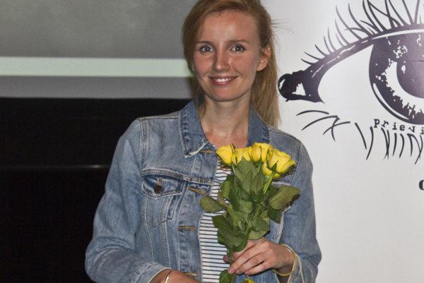Mária Švarbová besedovala s prievidzskými žiakmi.