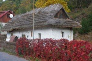 Domček so slamenou strechou potrebuje obnovu. Má v ňom vzniknúť expozícia.