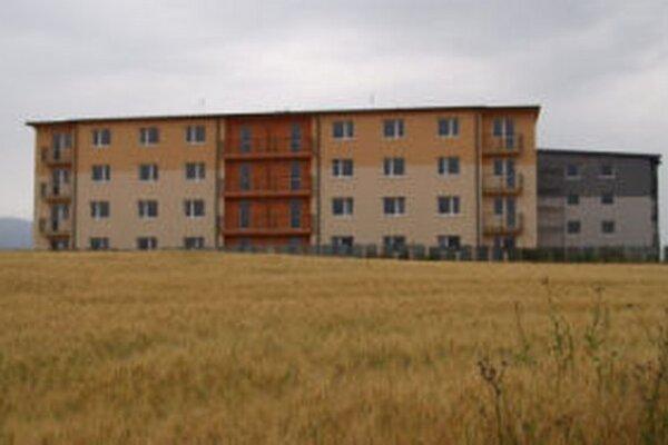Na severe Žiaru vzniká nová štvrť.