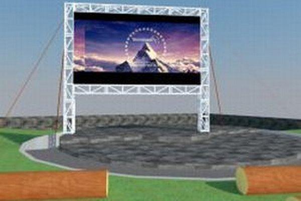 Letné kino sa premiestni z nádvoria Akropoly do Zechenterovej záhrady.