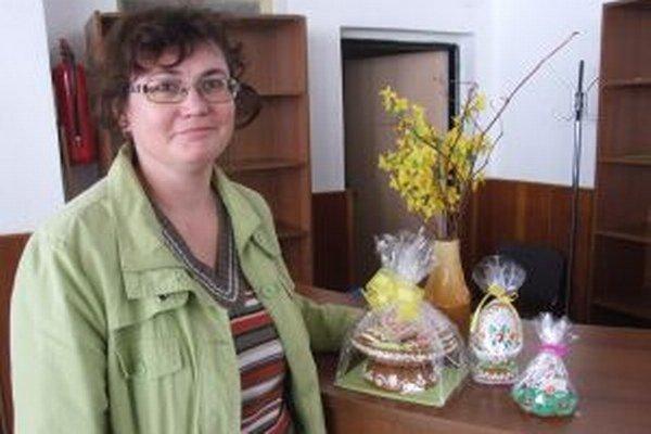 Kamila Mištíková. Najviac jej dávajú zabrať 3D kraslice.