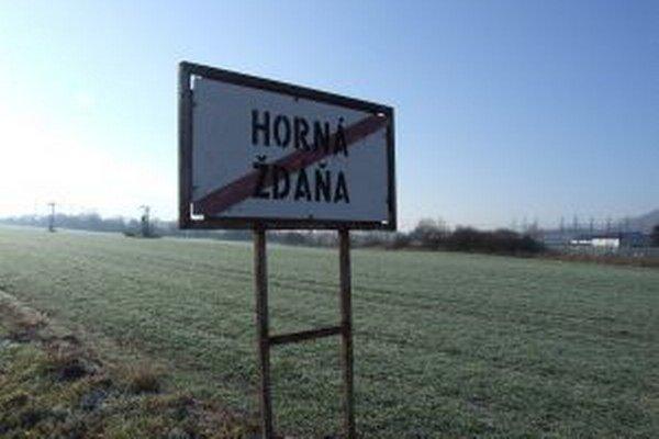 Označenie Hornej Ždane je nesprávne. Nikomu to však neprekáža.